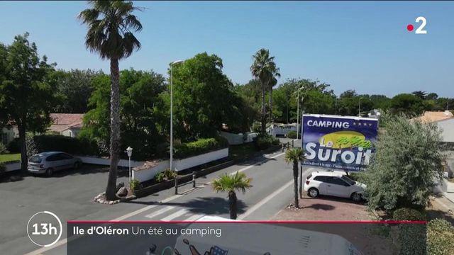Charente-Maritime : un été en camping sur l'île d'Oléron