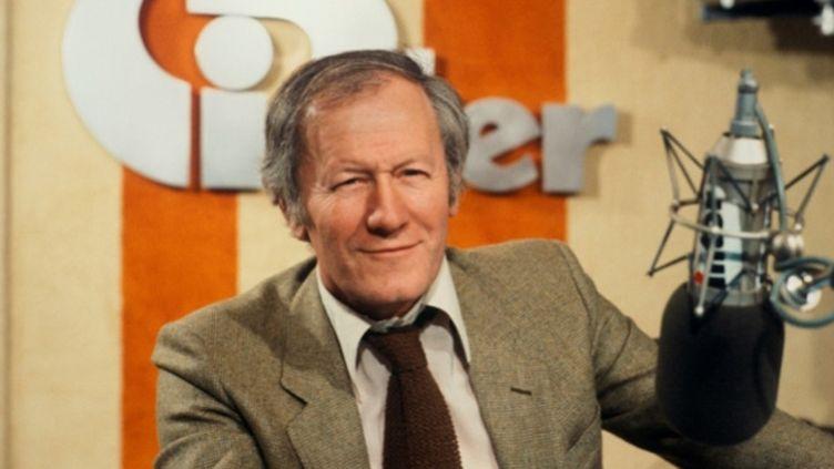 (Jacques Chancel, l'homme de Radioscopie sur France Inter © RF/ Roger Picard)
