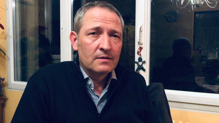 Emmanuel Crolet, frère de Florence, assassinée par Jean-Claude Romand (MATTHIEU MONDOLONI / FRANCE-INFO)