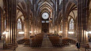 La cathédrale de Strasbourg depuis le choeur  (MATTES René / hemis.fr)