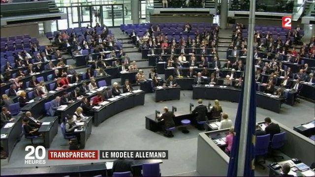 L'Allemagne très stricte avec la transparence