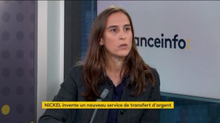 Marie Degrand-Guillaud-directrice générale de la néo-banque NiCKEL (FRANCE INFO / RADIO FRANCE)