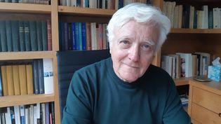 Elie Barnavi, le 20 janvier 2020. (FRÉDÉRIC MÉTÉZEAU / ESP - REDA INTERNATIONALE)