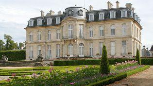 Vue du château depuis le jardin  (Thomas Clouet)