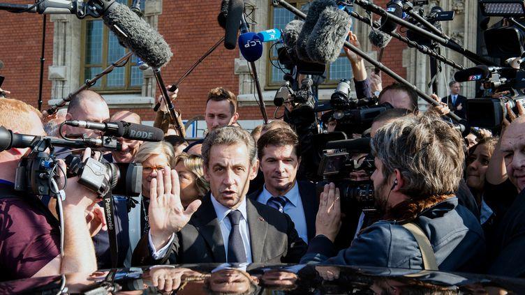 Nicolas Sarkozy le 21 septembre 2016 (PHILIPPE HUGUEN / AFP)