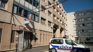 Le commissariat de Champigny-sur-Marne (Val-de-Marne), le 21 octobre 2018. (BERTRAND GUAY / AFP)