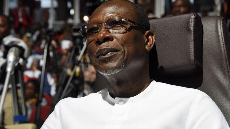 Le président du Bénin, Patrice Talon, se présente à l'élection présidentielle pour un second mandat. (ISSOUF SANOGO / AFP)
