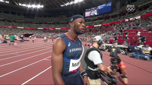 """Très belle entrée en matière d'Aurel Manga qui remporte sa série du 110 m haies en 13""""24 ! Direction les demi-finales avec un record personnel égalé."""