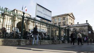 L'hôpital Lariboisière de Paris, le 11 octobre 2016. (ETIENNE LAURENT / EPA / MAXPPP)