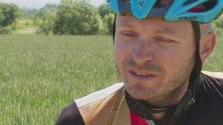 Un biker contre la mucoviscidose (FRANCEINFO)