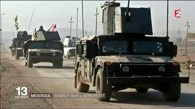 Irak : assaut sur l'aéroport de Mossoul