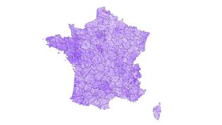 La France du vote La République en marche. (FRANCEINFO)