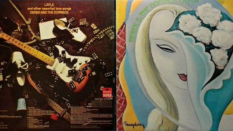 La pochette recto/verso de l'album avec la peinture deEmile Frandsen (Emile Frandsen / Polydor  / ATCO)