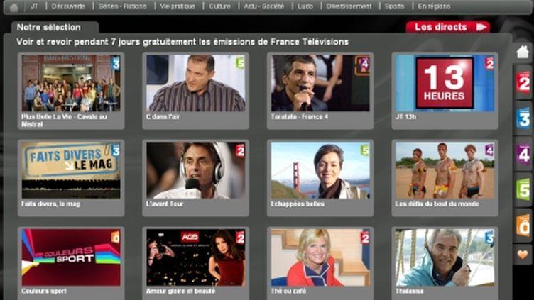 """Capture d'écran de pluzz.fr, le site de """"catch-up"""" de France Télévisions. (France Télévisions)"""