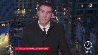 AstraZeneca a indiqué cette semaine qu'il ne livrerait qu'un quart de ses vaccins au premier trimestre. (France 2)