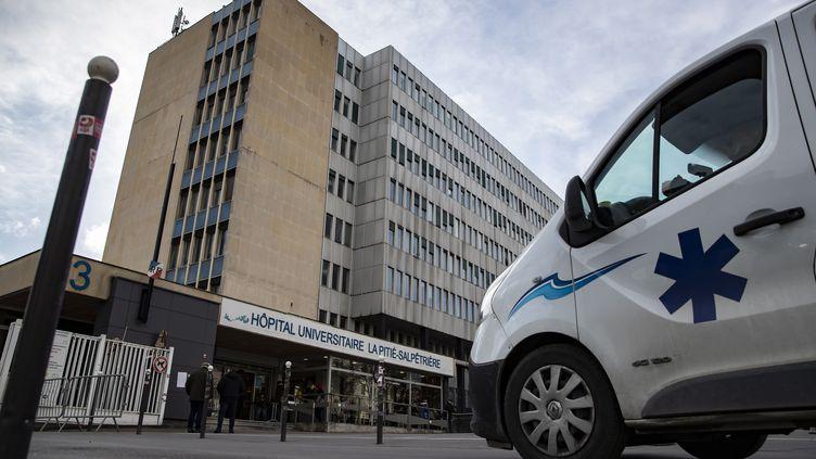 L'hôpital de la Pitié-Salpétrière, à Paris, le 26 février 2020. (MAXPPP)