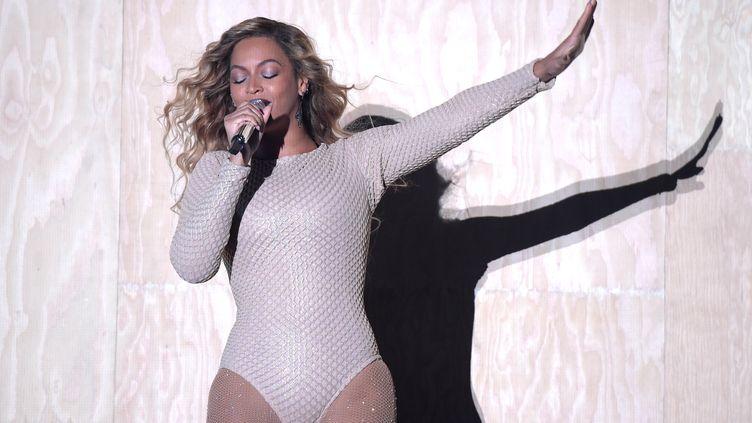 Beyoncé lors du Festival Global Citizen à New York (Etats-Unis), le 26 septembre 2015. (THEO WARGO / GETTY IMAGES NORTH AMERICA / AFP)
