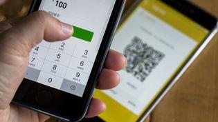 La solution de paiement par smartphone WeChat Pay. (ZHANG PENG / LIGHTROCKET / GETTY IMAGES)