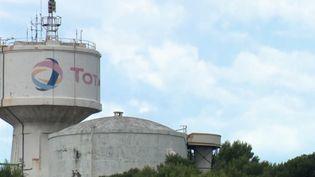 Raffinerie Total de La Mède, Bouches-du-Rhône. (FRANCE 2)