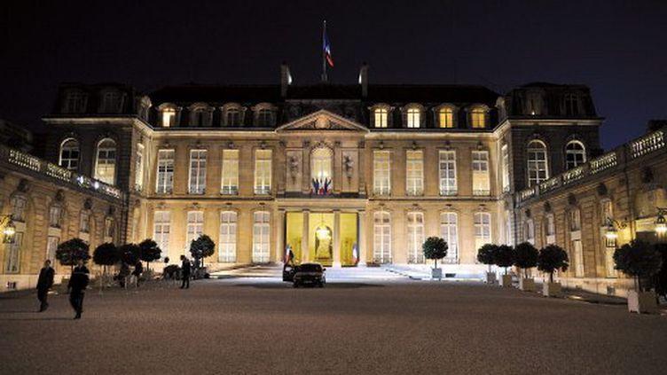 Le Palais de l'Elysée, résidence du chef de l'Etat. (ERIC FEFERBERG / AFP)