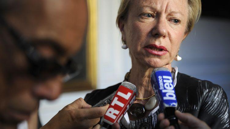 Christine Robichon, actuelle ambassadrice de France au Cameroun, le 30 juin 2009, à Marseille (Bouches-du-Rhône). (ANNE-CHRISTINE POUJOULAT / AFP)