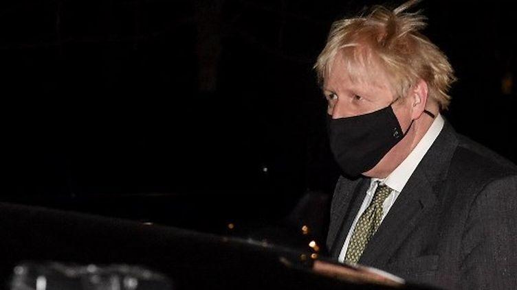 Le Premier ministre britannique, Boris Johnson, le 9 décembre 2020. (JOHN THYS / AFP)