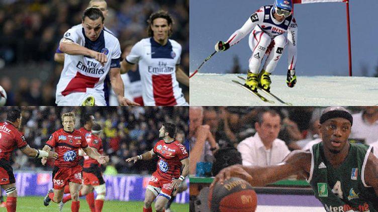 Du foot, du ski, du rugby, du basket...