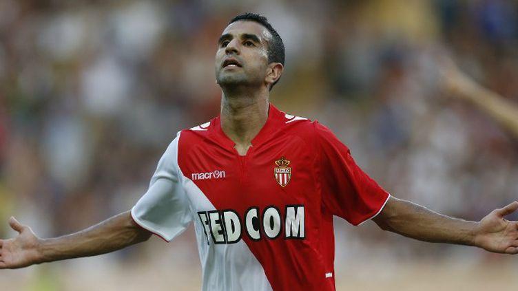 Mounir Obbadi, auteur du premier but pour l'AS Monaco.