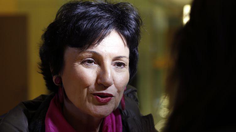 Dominique Bertinotti, ministre déléguée chargée de la Famille, le 18 décembre 2012 à l'Assemblée nationale, àParis. (FRANCOIS GUILLOT / AFP)