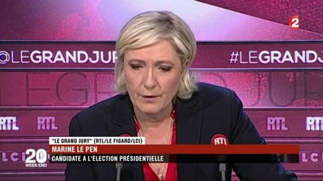 Les propos de Marine Le Pen sur le Vel' d'Hiv' suscitent la polémique