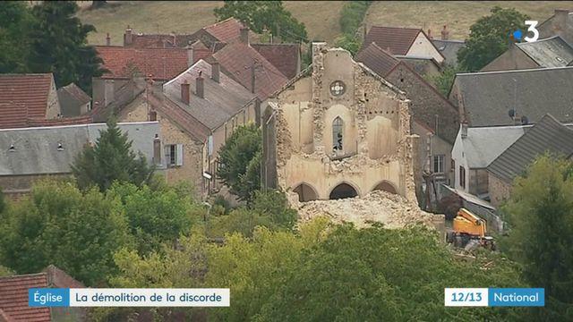 Église  : la démolition de la discorde