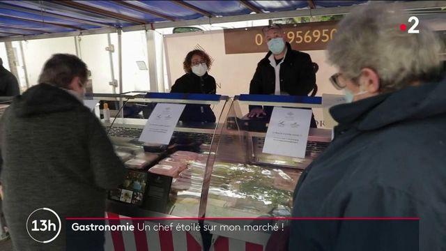 Essonne : le chef étoilé Aymeric Dreux fourni les marchés pour maintenir son restaurant à flot