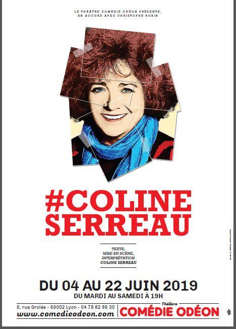 l'affiche de #Coline Serreau (Comédie Odéon)