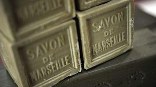 Des savons de Marseille. (ANNE-CHRISTINE POUJOULAT / AFP)
