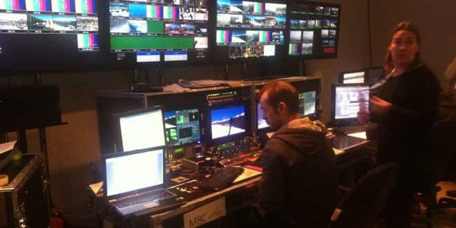 La régie de France Télévisions au BMC