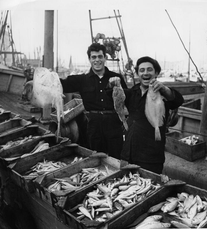 Une photo de Robert Doisneau à Marseille en 1951. (ATELIER ROBERT DOISNEAU / TOUS DROITS RESERVES)
