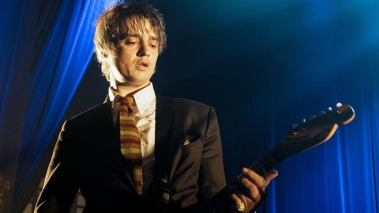 Le chanteur Pete Doherty en concert au Bataclan à Paris, le 15 mai 2019. (DANIEL PIER / NURPHOTO / AFP)