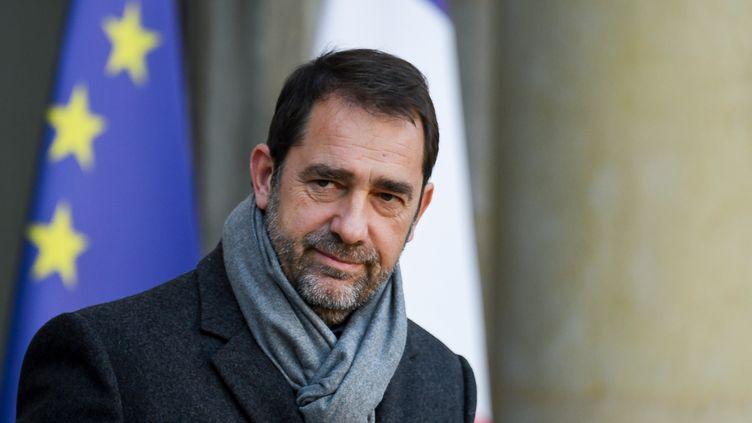 Le ministre de l'Intérieur, Christophe Castaner, au palais de l'Elusée, le 21 novembre 2018. (ALAIN JOCARD / AFP)