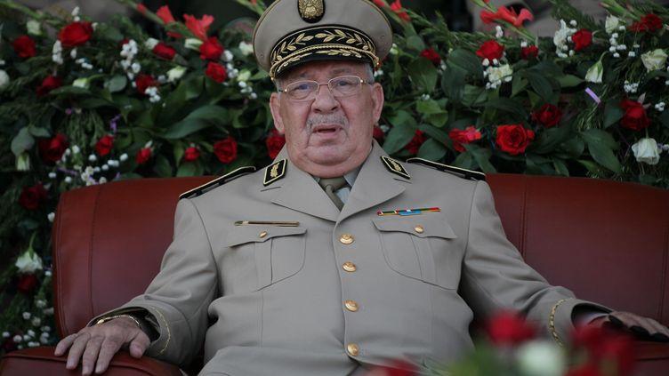 Ahmed Gaïd Salah, le 27 juin 2013 à Alger (Algérie). (MOHAMED BASHER ZAMRY / ANADOLU AGENCY / AFP)