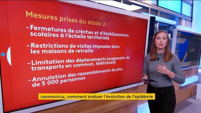 Coronavirus : la France est au stade 2 sur 3 de l'épidémie
