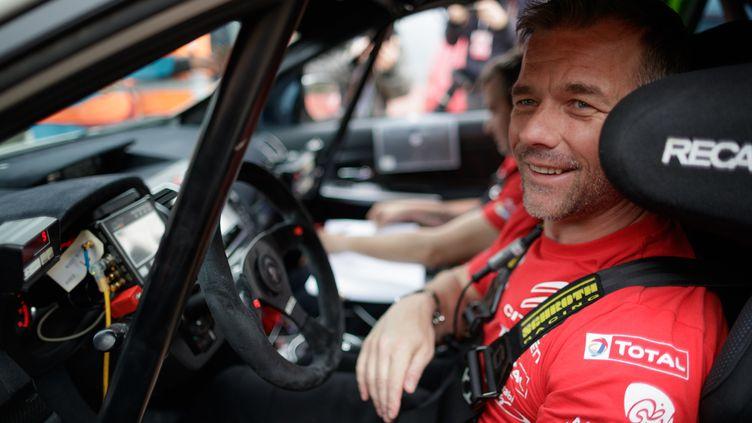 Sébastien Loeb de retour en WRC (FREDERIC LE FLOC H / DPPI MEDIA)