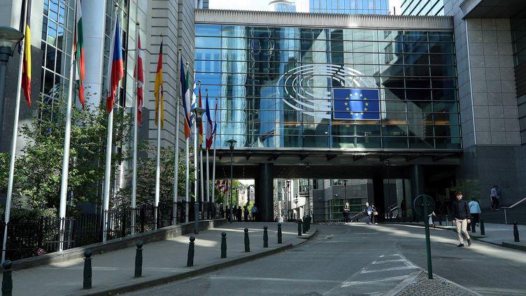 Le Parlement européen le 24 avril 2019 à Bruxelles. (DURSUN AYDEMIR / ANADOLU AGENCY/ AFP)