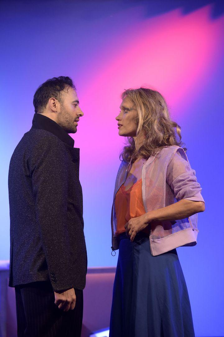 Xavier Gallais et Marianne Basler  (Pascal Gély)