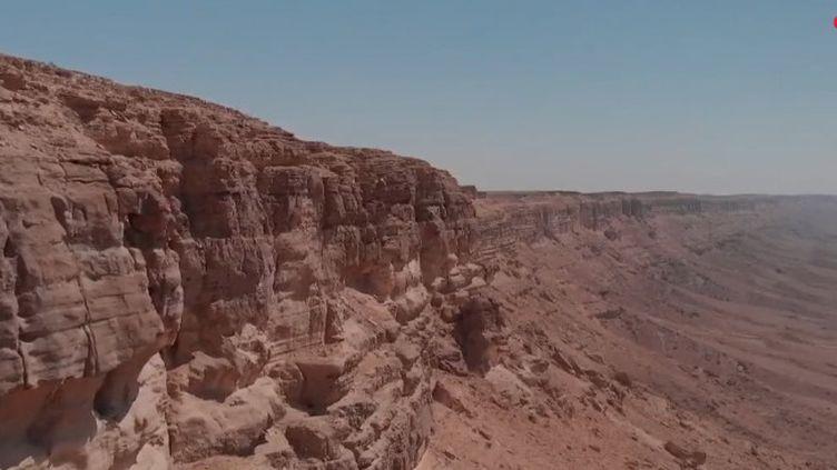 Le désert du Néguev, en Israël (France 2)