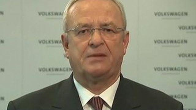 Le PDG de Volkswagen quitte son poste