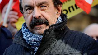 Le secrétaire général de la CGT, Philippe Martinez, le 6 février 2020, à Paris. (THOMAS SAMSON / AFP)