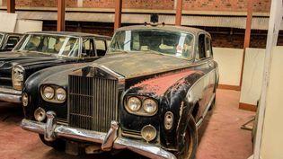 La Rolls Royce Phantom V du roi Mutesa II était entreposée au musée national ougandais mais n'a jamais été exposée au public. (Capture d'écran du Mail & Guardian)
