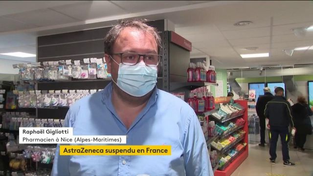 Covid-19 : l'utilisation du vaccin AstraZeneca suspendue en France