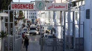 La maternité Wassila Bourguibaà Tunis. (FETHI BELAID / AFP)