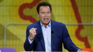 Arnold Schwarzenegger en mars 2018.  (Damian Dovarganes/AP/SIPA)